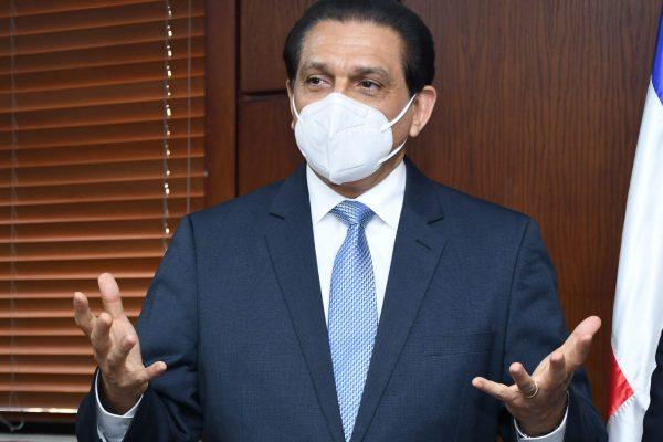 Daniel Rivera, ministro de Salud Pública,